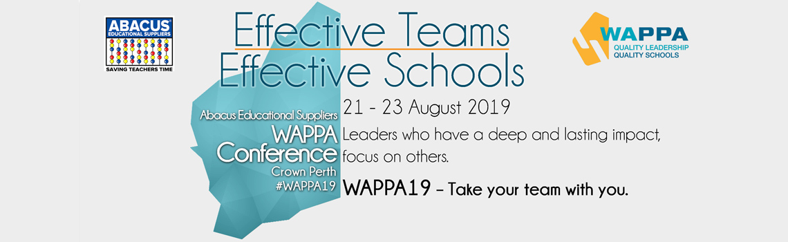 WAPPA Conference 2019, 21- 23 August 2019