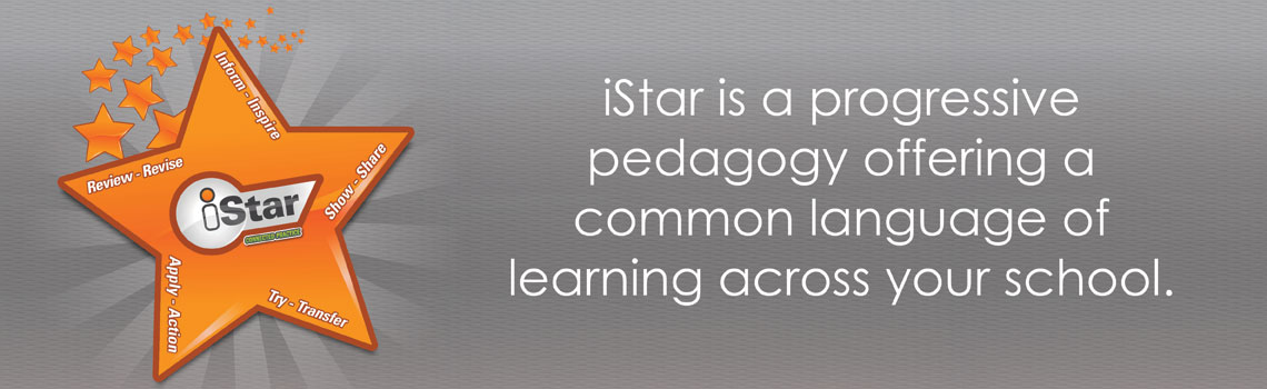 iStar is a progressive pedagogy offering a common language of learning across your school