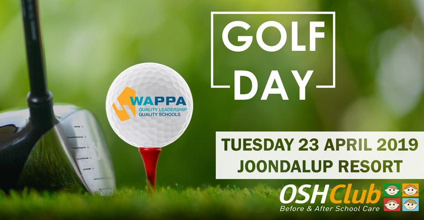 Golf Day, Tuesday 23 April 2019, Joondalup Resort, OSHCLUB